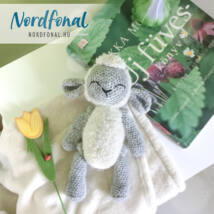 Húsvéti bárány amigurumi szett