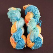 Merino Natural Aran Kék narancs