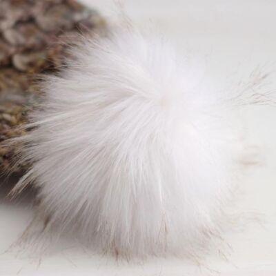 Pompom Fehér-bézs